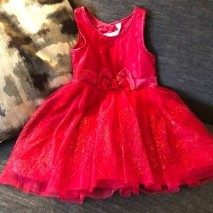 Cherokee girls holiday dress size XS 4/5 euc